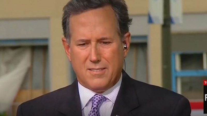 Rick Santorum Smacked Down When He Claims President Trump Is Responsible for Low Black Unemployment