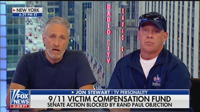 Jon Stewart Shreds Rand Paul For Blocking 9/11 Victims Fund: 'Fiscal Responsibility Virtue Signaling'