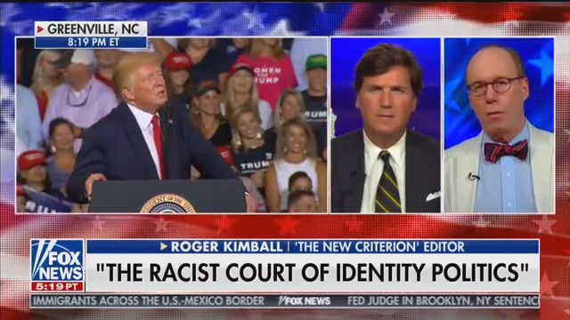 Tucker Guest: 'People of Color' Is a 'Racist Term' Because 'Having Dark Skin' Gives You 'Special Virtue'