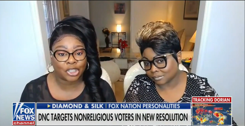 Diamond And Silk: Democrats Are Hypocrites For Appealing To Both Religious And Non-Religious Voters