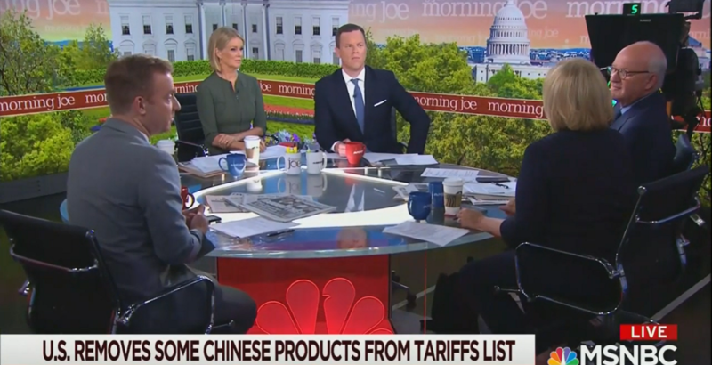 'Morning Joe' Panel: Trump Is Worried His Trade War Will Ruin Christmas
