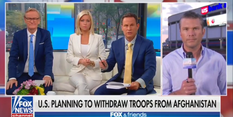 Fox News Hosts Worry About Trump's Afghanistan Withdrawal: The Taliban's Reading This As Weakness