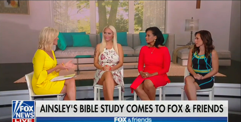 'Fox & Friends' Hosts Bible Study Live On Air: Participants Praise Fox News, Bash Abortion