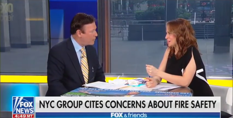 'Fox & Friends' Abruptly Ends Segment When Guest Talks About Fire Deaths Instead Of Bill de Blasio