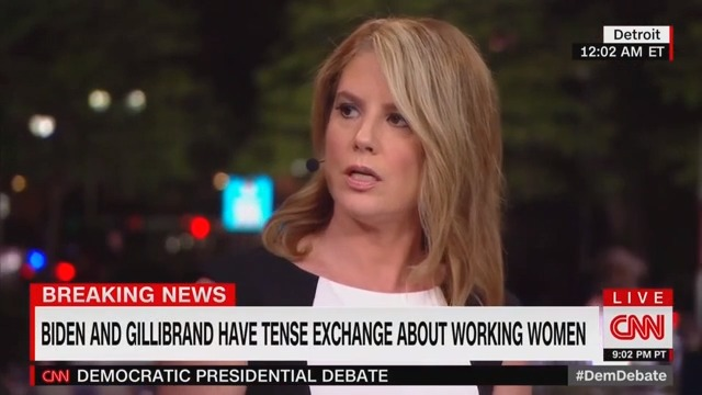 CNN Analyst: Gillibrand's Attacks on Biden During Debate Were 'Craven' and 'Unfair'