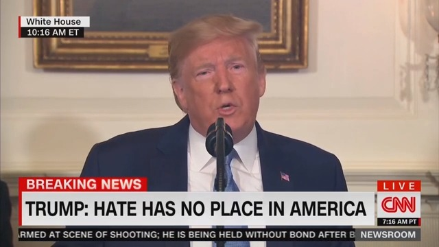 Trump Asks America to Pray For the Victims in 'Toledo' While Addressing Dayton and El Paso Shootings
