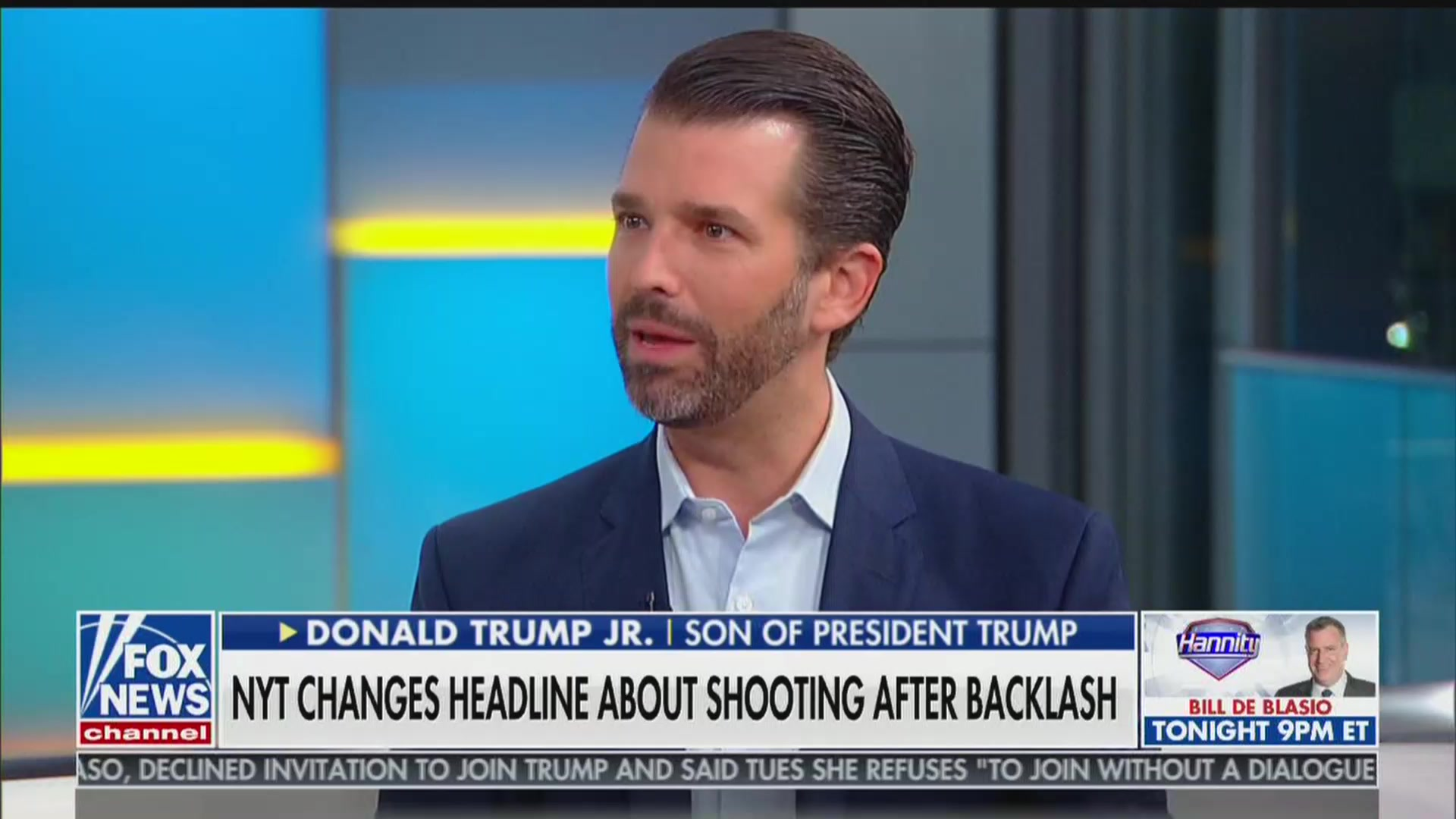 Donald Trump Jr. Compares Joaquin Castro's Donor Tweet to Dayton Shooter's Hit List