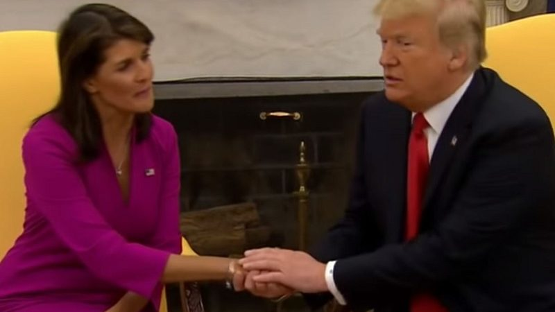 Nikki Haley Claims Tillerson, Kelly Tried to Convince Her to Undermine Trump