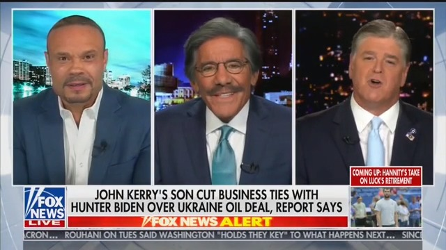 Hannity: 'Let Me Cry a River for Joe Biden's Family!'