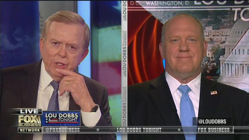 Lou Dobbs Cheers Corrections Officer Who Plowed Through ICE Protesters: He Was 'Within His Rights'