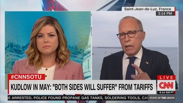 Larry Kudlow: Trump 'Didn't Exactly Hear' Question Asking If He Had 'Second Thoughts'