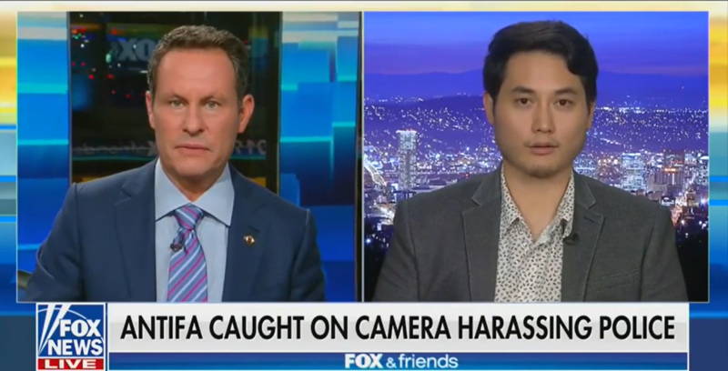 Andy Ngo Tells Fox News: Masked Antifa Children Harassed Portland Police