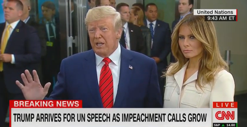 Trump on Ukraine Call: 'There Was Pressure Put on With Respect to Joe Biden'
