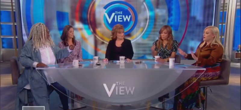 Whoopi Goldberg Shuts Down Meghan McCain: 'Don't Be So Dismissive When You Talk'