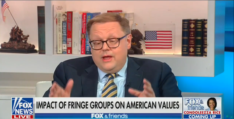 Fox's Todd Starnes: Country Is On The Verge Of Civil War, Left Wants To Destroy Religious Liberty