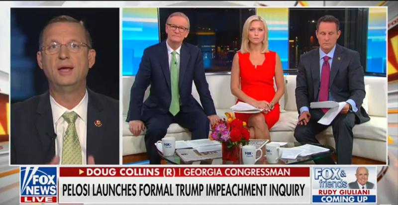 'Fox & Friends': There Are 'A Few Words' in the Ukraine Transcript That Will 'Raise Eyebrows'