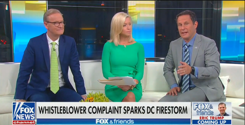 'Fox & Friends': Trump's Phone Conversations Are Kept in a 'Super Secret Gizmo Computer'