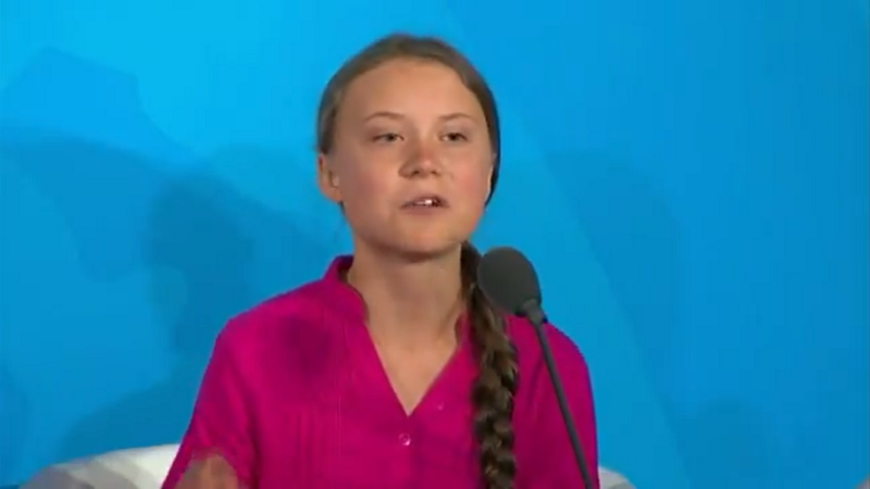 Trump Mocks Greta Thunberg as Fox Cuts Ties with Guest who Called Her 'Mentally Ill'