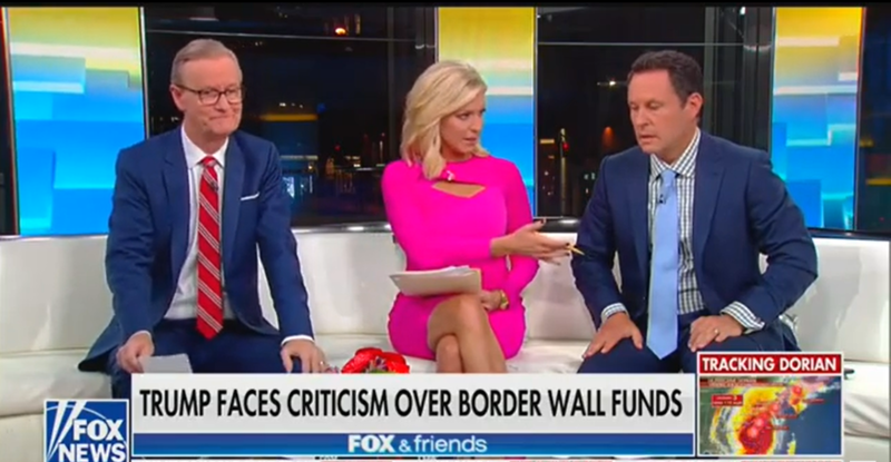 Fox's Brian Kilmeade: Trump Never Should Have Said Mexico Would Pay For The Wall