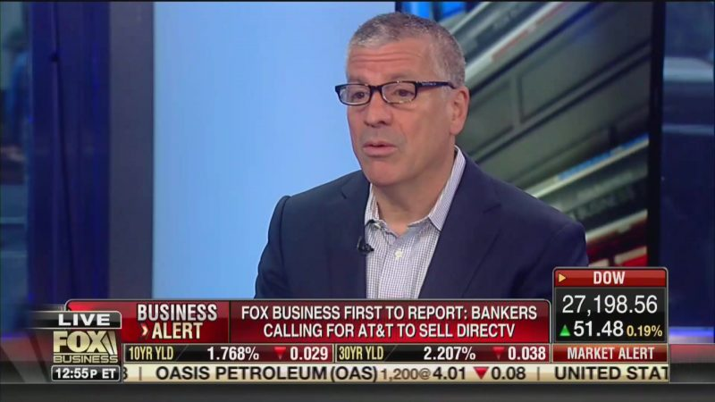 Fox's Charlie Gasparino Blasts WSJ Colleagues: They 'Couldn't Wear My Jockstrap!'