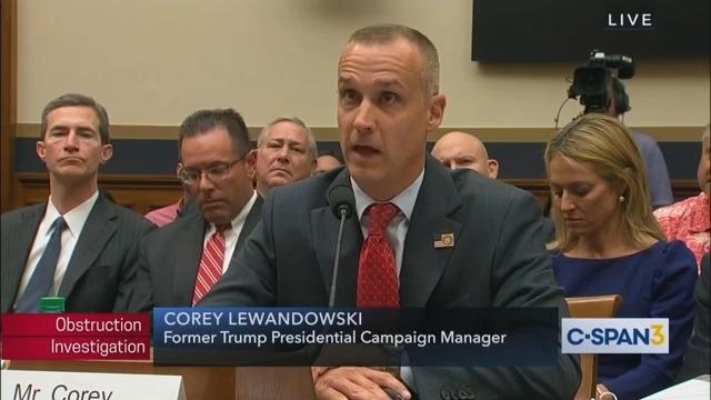 Corey Lewandowksi Won't Run for the Senate Even Though He's 'Certain' He'd Win