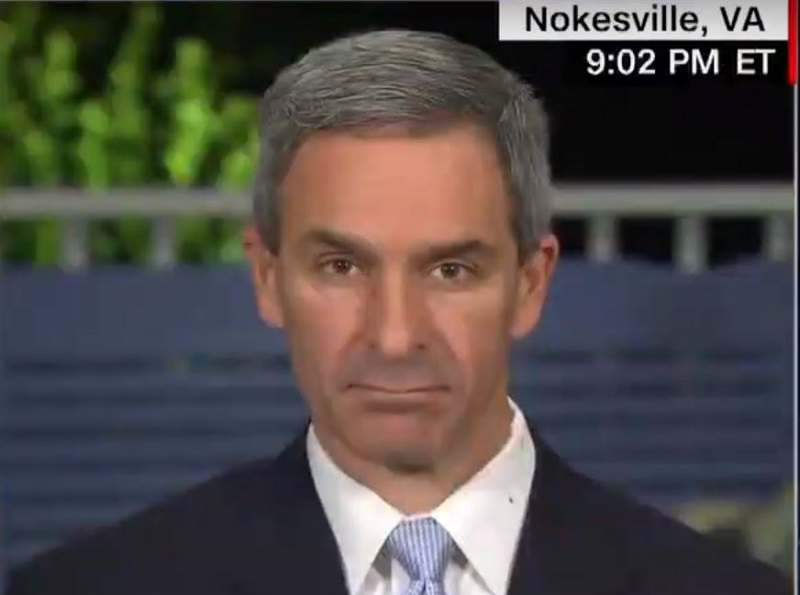 Cuccinelli Gets Defensive Over Trump's Claim of Drug Dealers Hiding Among Bahamas Refugees