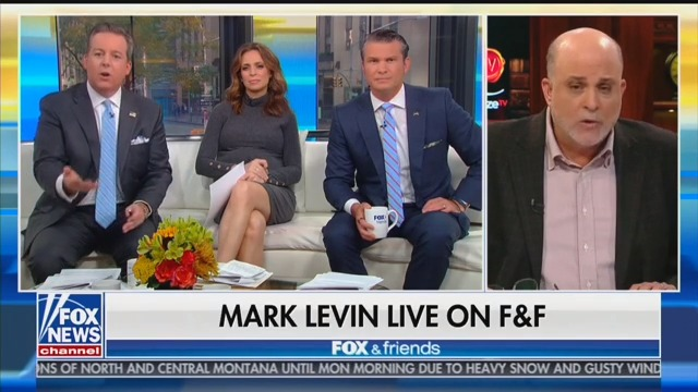 Trump Sides With Fox News' Mark Levin Over His Colleague, 'Lying Sh*t Head' Ed Henry
