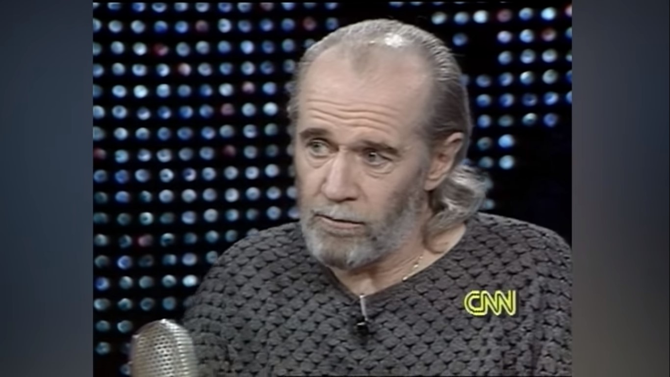 WATCH: George Carlin, in 1990, Rails Against Comics Who Punch Down at Marginalized Groups