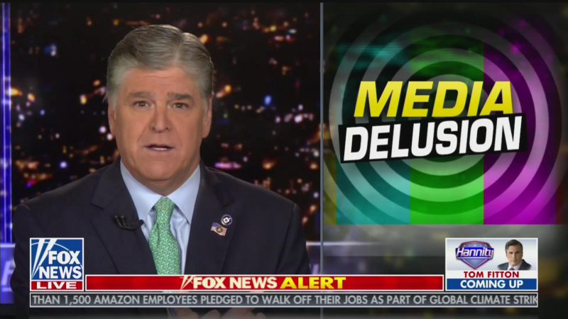 Hannity: 'I Was Happy at the News' That Whistleblower Complaint Is About Ukraine