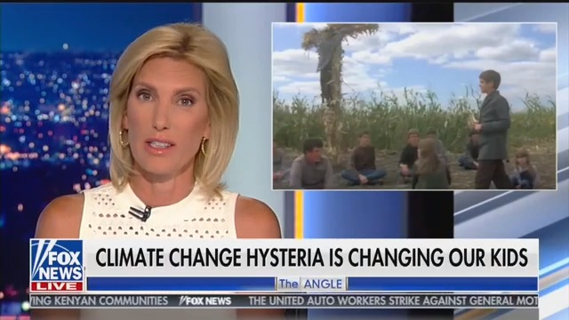Laura Ingraham Sparks Outrage By Comparing Greta Thunberg to 'Children of the Corn'