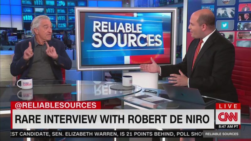 Robert De Niro Drops F-Bomb on CNN While Firing Back at Fox News: 'F*ck 'Em!'
