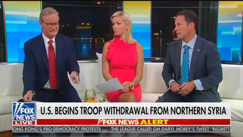 Fox's Kilmeade Blasts Trump's 'Disastrous' Decision to Abandon Kurdish Allies: 'Are You Kidding Me?!'