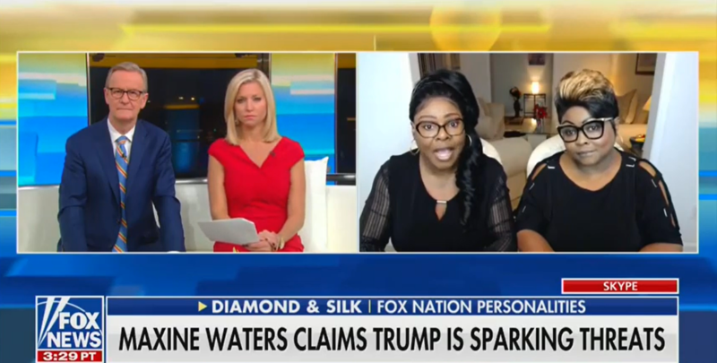 Diamond and Silk Accuse Democratic Rep. Maxine Waters of Inciting Death Threats Against Them