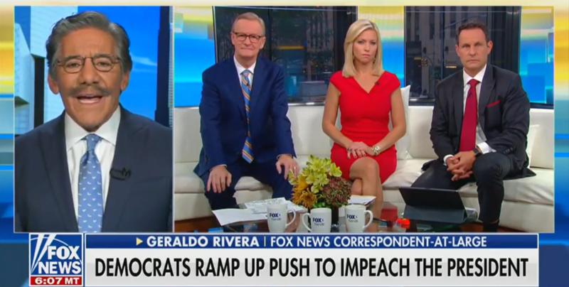 Geraldo Rivera Expresses Sympathy for Biden, 'Fox & Friends' Hosts Freak Out