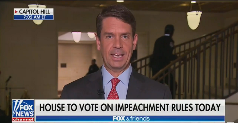 During Report on Impeachment, 'Fox & Friends' Joke That Trump Has 'The Most Famous Escalator'