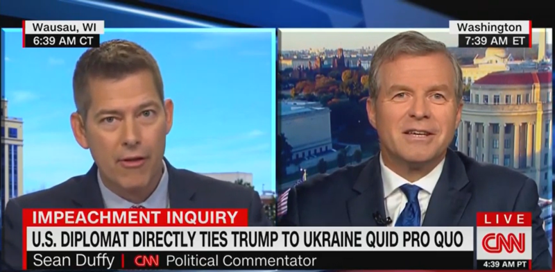Fmr. GOP Rep. Charlie Dent Nails Sean Duffy: 'My Nose Isn't a Heat-Seeking Missile for the President's Backside'