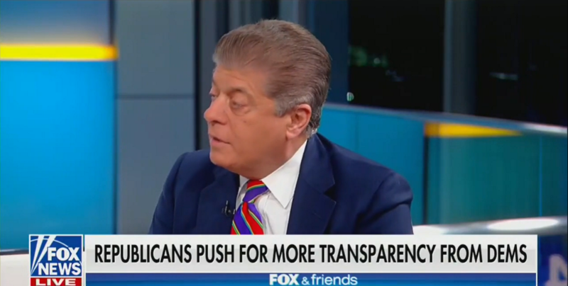 Judge Nap Destroys Fox Talking Point on 'Secret' Hearings: Republicans Wrote These Rules