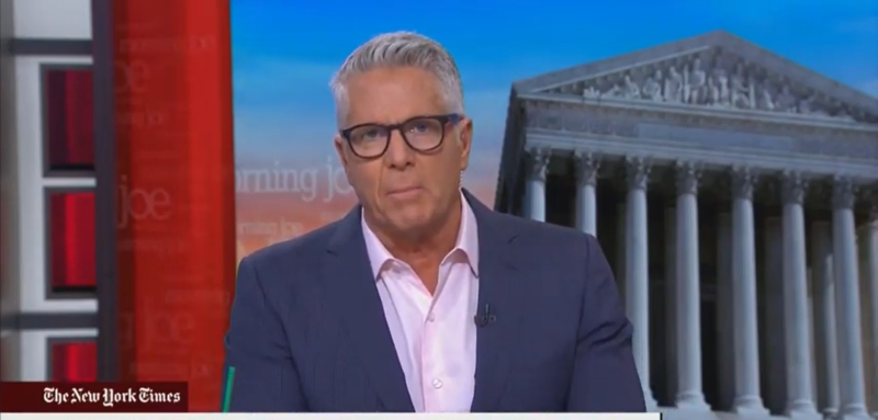 MSNBC's Donny Deutsch Slams GOP 'Weenies' Who Stormed SCIF: How Do You Look at Your Wives?