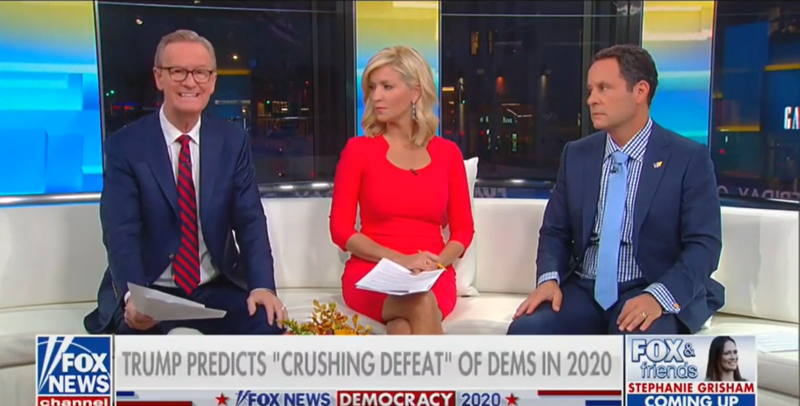 Fox's Brian Kilmeade: Only Way Democrats Can Beat Trump Is to 'Make the President Look Unworthy of the Job'