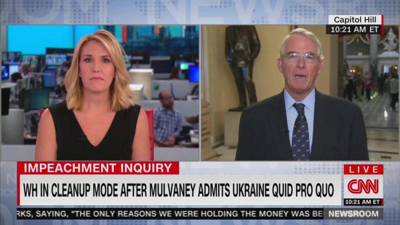 GOP Congressman Won't Rule Out Impeachment: 'Certainly Clear' There Was a Quid Pro Quo