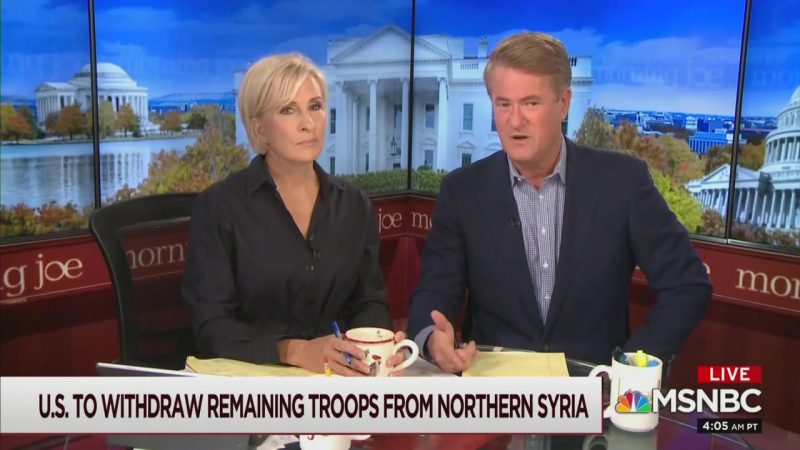 Joe Scarborough: Trump Supporters Need to Understand He Betrayed Israel, Helped ISIS and Putin