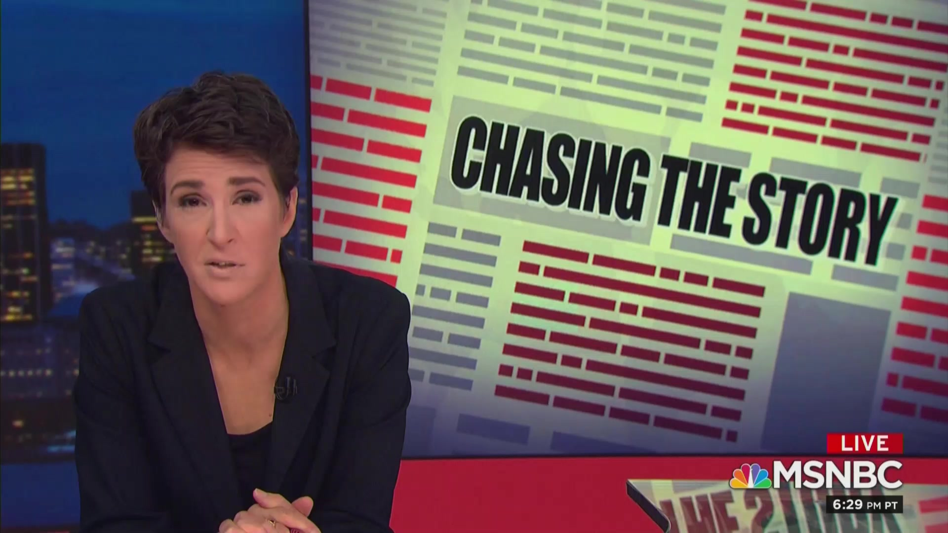 Maddow Bashes NBC Management Over Handling of Harvey Weinstein Story