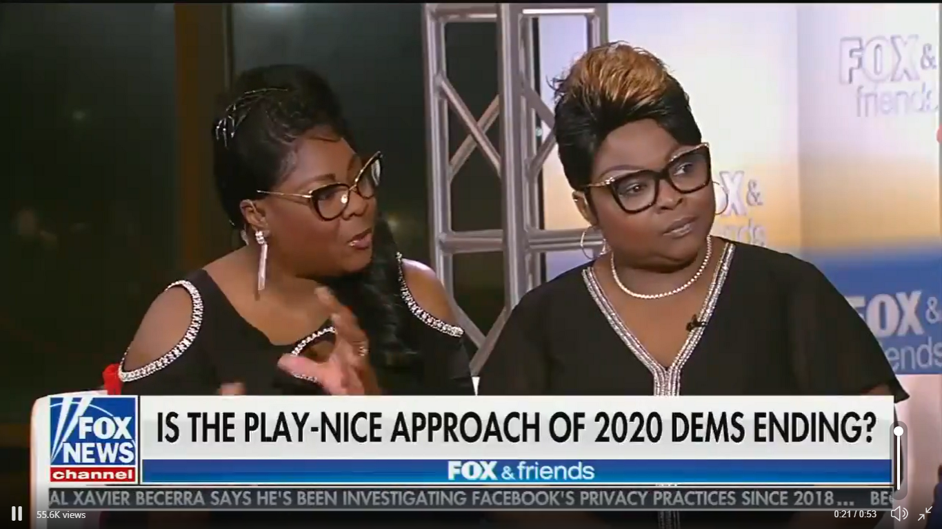 Diamond And Silk Try to Attack Biden and Warren, Claim Sugar and Salt Are the Same Thing