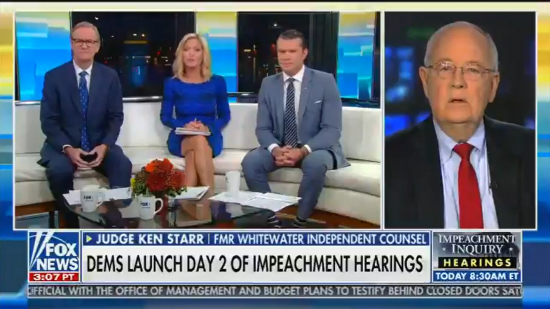 Fox's Ainsley Earhardt Appears to Call Out Sean Hannity for Saying Marie Yovanovitch Will Cry During Impeachment Hearing