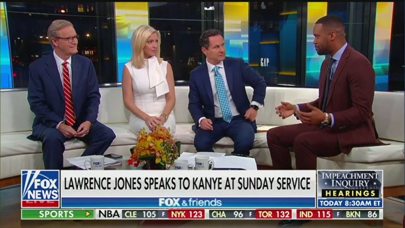 'Fox & Friends' Call Kanye West A Vessel of God: 'Our Country Needs This'