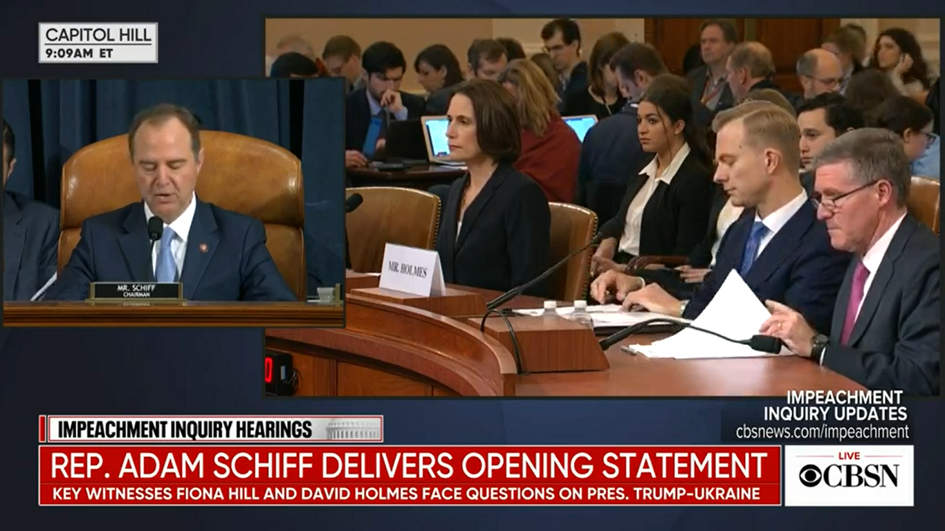 Impeachment Witness Fiona Hill Calls Out Republicans' 'Fictional Narrative' of Ukraine Election Interference