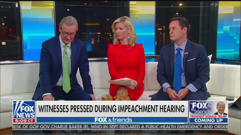 Fox's Brian Kilmeade: Adam Schiff 'Looked Like He Was Gonna Cry' During Impeachment Hearing