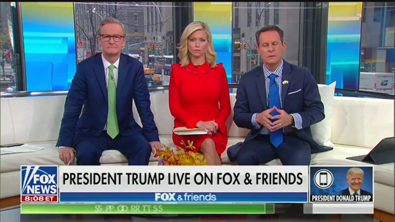 Trump Tells 'Fox & Friends' the DNC Refused to Give the FBI the Non-Existent Server from Ukraine Conspiracy Theory