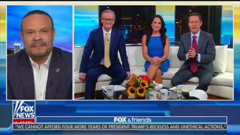 Dan Bongino Says Democrats Worked with Ukraine to Spy on Trump: 'It's No More Complicated Than That'