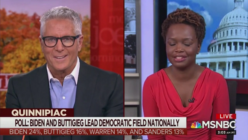 MSNBC's Donny Deutsch Defends Calling Elizabeth Warren Unlikable: 'Maybe I'm Too Woke'